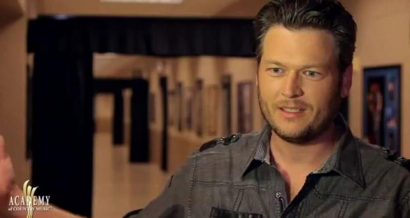 ACM Awards 2012 Rehearsal - Blake Shelton
